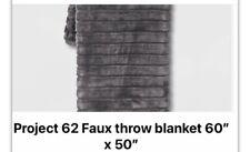 Project 62 Faux Blanket
