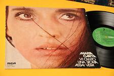 MARIA CARTA LP VI CANTO UNA STORIA ASSAI VERA 1976 EX+
