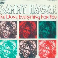"7"" Sammy Hagar/i 've Done Everything for you (Bianco Pattern) D (Van Halen)"
