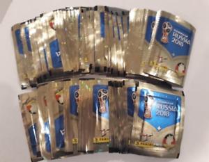 PANINI STICKER World Cup 2018   (100  Loose Packs)