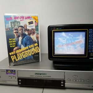 Heaven Is A Playground TESTED WORKING VHS Video Tape Urban Basketball Drama