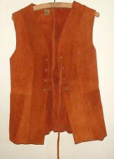Suede Vintage Waistcoats for Women