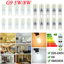 10x G9 5W/8W LED Dimmable Capsule Bulb Replace Light Lamps AC220-240V LED Bulbs