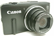 Canon Powershot SX280 HS 10MP 5x Point & Shoot camera w. extras *Black *superb