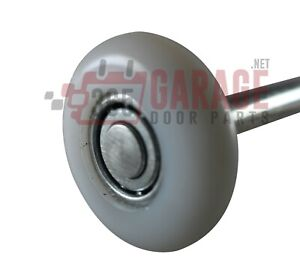 2 Inch 13 Ball Nylon Garage Door Roller (4 Inch Stem) Qty. 10 ( 10 pack )