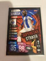 Match Attax EXTRA 2019//20 Lot de 7 Superstar Striker cartes SS17-SS23 Comme neuf