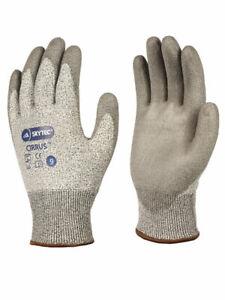 Skytech Cirrus Cut 3 PU Glove, Grey, Size XL/10 **3 PAIRS**