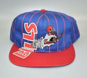 Buffalo Bills Taz Looney Tunes Big Logo Drew Pearson Vintage Youth Snapback Hat