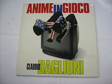 CLAUDIO BAGLIONI - ANIME IN GIOCO - 2LP VINYL 1997 EXCELLENT CONDITION