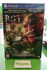 ATTACK ON TITAN A.O.T. WINGS OF FREEDOM TREASURE BOX PS4 - NUOVO VERSIONE ITALIA