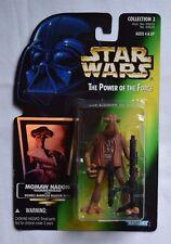 Star Wars Momaw Nadon Hammerhead POTF Holo Green Card Collection 2 Action Figure