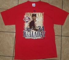 "Wanted ""DOC"" ROY HALLADAY No. 34 PHILADELPHIA PHILLIES (Large) T-Shirt"