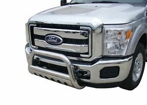 Steelcraft 2017 Ford Super Duty Stainless Bull Bar Bumper Guard 71380