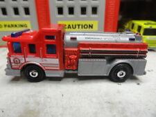 MATCHBOX FIRE E-ONE EMERGENCY OPERATIONS HAZMAT TANKER CUSTOM KITBASH UNIT