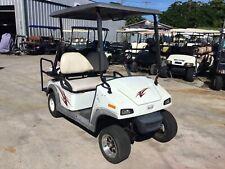2009 white fairplay 4 seat passenger 48v 48 volt Golf Cart w canopy