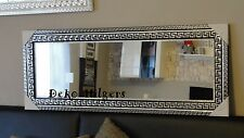Spiegel Groß Wandspiegel Barock Art Medusa Badspiegel Dekoration Deko 130X50 SS