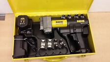 Rems AX-Press 40Akku Pressgerät Presszange Presswerkzeug