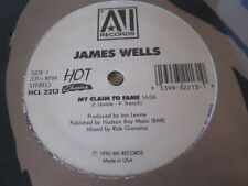 James Wells  My Claim To Fame - ORIGINAL SEALED 12""