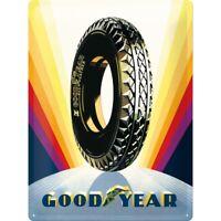 Goodyear All Weather Tires Blechschild 3D geprägt Metal Tin Sign 30 x 40 cm