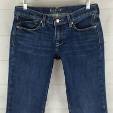New ListingOld Navy The Flirt Womens Size 4 Stretch Blue Med Wash VTG  Crease Bootcut Jeans 452d8ae3a