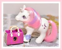 ❤️My Little Pony MLP G1 Vtg 1984 BABY Moondancer Play 'n Care Moon & Stars❤️