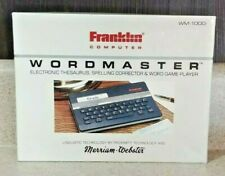 Wordmaster Electronic Thesaurus Spelling Franklin Computer Webster Wm-1000