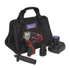 Cordless Hand Polisher Kit 75mm 12V 2 Batteries Sealey CP1205KIT With Bag