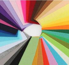 20pcs Rainbow Colorful Felt Sheets DIY Craft  Fabric A4 (Random Color)