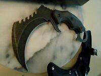 Tac-Force Fixed Blade Big Karambit Claw Dagger Combat Knife Full Tang G10 New