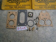 Kit GUARNIZIONI per carburatore Weber 32 e 34 ADF  Fiat 132 1600- 1800cc  - W268