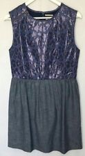 Denim Casual Regular Size Dresses for Women