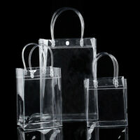Hot Women Clear Tote Bag PVC Transparent Handbag Shoulder Purse Beach Bag Gift