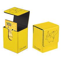 PIKACHU FLIP BOX POKEMON TCG ULTRA PRO MAGNETIC DECK BOX CARD BOX