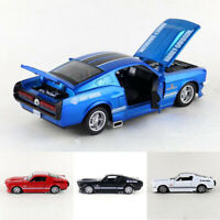 Classic Ford Shelby GT500 1/32 Model Car Metal Diecast Toy Kids Collection Gift