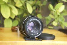 NEW MC HELIOS-44M-6 2/58 mm M42 Twisted Bokeh Portrait Lens (Biotar) TESTED