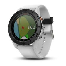 "Garmin Approach S60 0100170201 White Band Golf GPS 1.2"" Touchscreen Smartwatch"