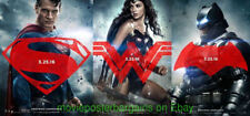 All 6 BATMAN VS SUPERMAN Dawn of Justice MOVIE POSTER Double Sided 27x40 MINT!