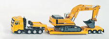 SUPER SIKU 1847 Heavy Haulage Transporter with Liebherr Excavator 1:87 Die Cast