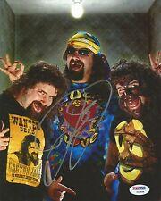 Mick Foley Signed WWE 8x10 Photo PSA/DNA COA Cactus Jack Dude Love Picture Auto