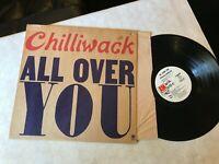 Chilliwack all over you PROMO wlp lp original vinyl 1972 a&m sp4375 album soft !