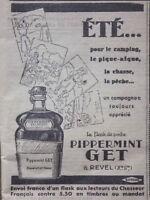 PUBLICITÉ FLASH DE POCHE PIPPERMINT GET à REVEL 1933