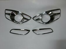 Fog Lamp Rear Reflector Cover Garnish Molding for 2010 2012 Hyundai Santa Fe