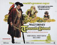 Treasure island Bobby Driscoll vintage movie poster print