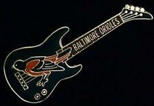 Baltimore Orioles Guitar Pin ~ MLB ~ Baseball