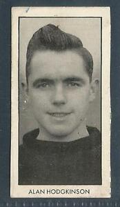 D C THOMSON-WORLD CUP FOOTBALLERS-1958-#05-SHEFFIELD UTD/ENGLAND-ALAN HODGKINSON