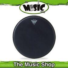 """New Remo 14"""" Black Suede Emperor Drum Skin - 14 Inch Drum Head - BE-0814-ES"""