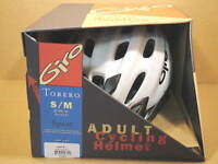 New-Old-Stock Giro Torero Sport Helmet w/White Shell (Size S/M)...Second Quality