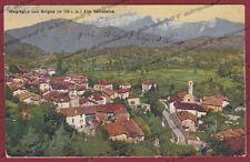 COMO MAGREGLIO 08 GRIGNA - VALLASSINA Cartolina viaggiata 1917