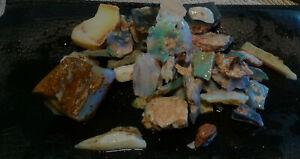 66 grams of mixed rough opal by johnosopals.com