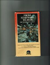 FROM STAR WARS TO JEDI: THE MAKING OF A SAGA VHS     PLAYHOUSE VIDEO